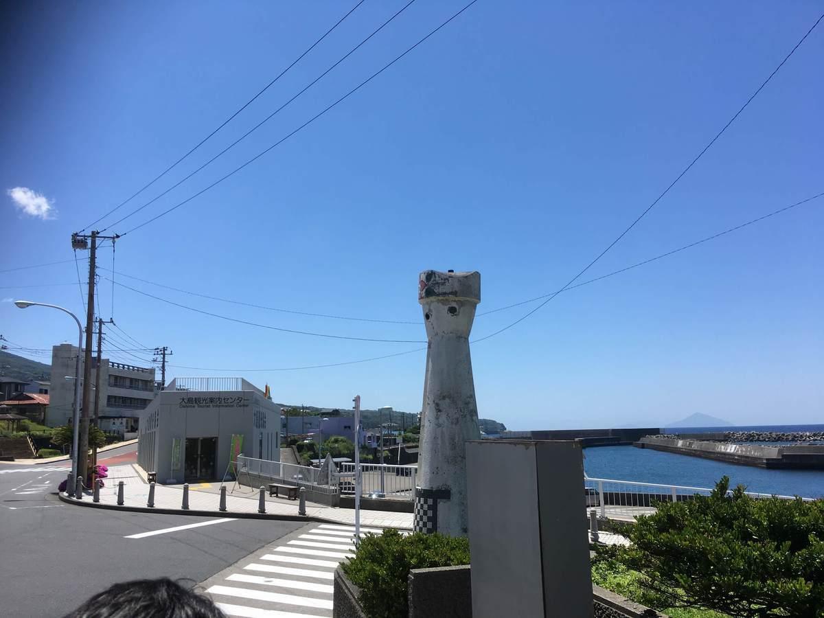 港からの景色