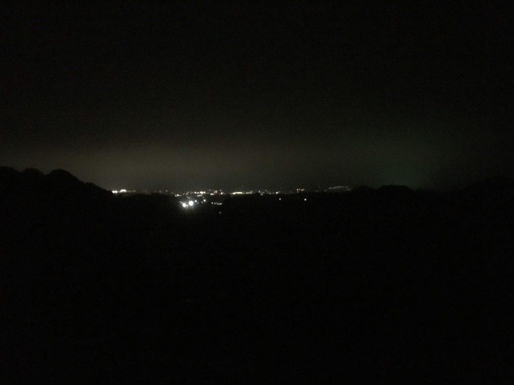 秦野の夜景